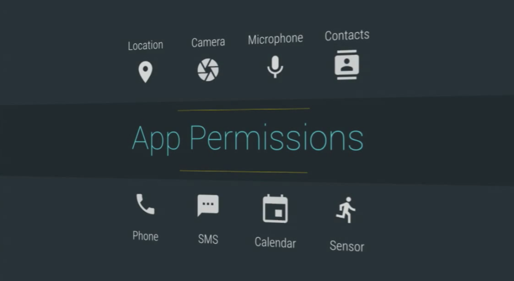 App permission android